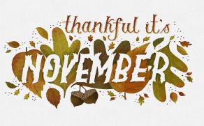 October and November 2018 Newsletter